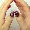 Vampire Weekend Floral Nails