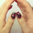 Vampire Weekend Floral Nails