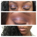 Brown to the Blue Vs Natural lips