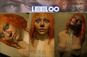I decided I wanted to pretend I was Leeloo for a day. Since I became an Orange-head.