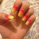 Ombré nails 💅
