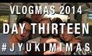 #JYUKIMIMAS DAY THIRTEEN | VLOGMAS 2014 | JYUKIMI.COM