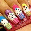 Yummy Cupcake Nails