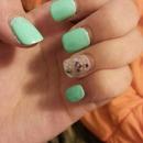 Midnight nails