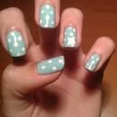 Polka Dot Star Nails