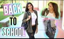 Back To School Routine! Hair, Makeup & Outfit Idea + GIVEAWAY!