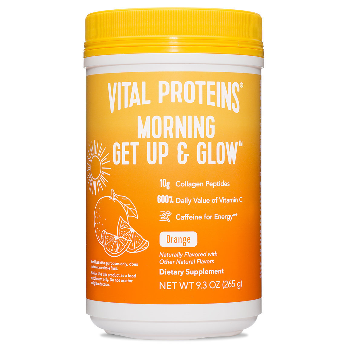 Vital Proteins Morning Get Up & Glow 9.3 oz alternative view 1 - product swatch.