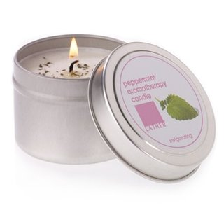 Lather Peppermint Candle