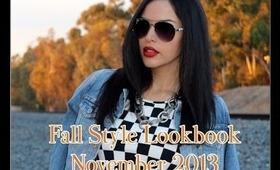 Fall Style Lookbook November 2013