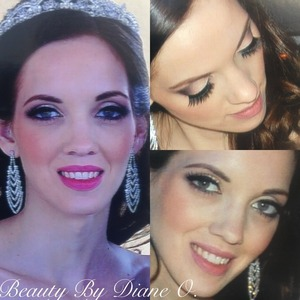 Makeup by me on this beautiful bride