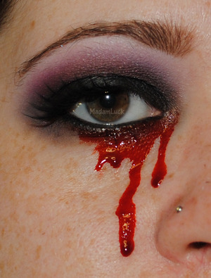 Crying Blood-TrueBlood inspired