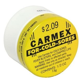 Carmex Cold Sore Reliever and Lip Moisturizer, Jar