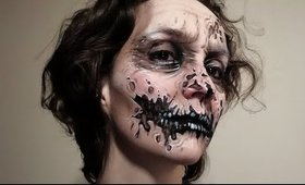 Zombie Makeup With Just FOUR Products
