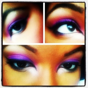 Makeup done by me!