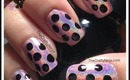 Easy Polka Dot Nail by The Crafty Ninja
