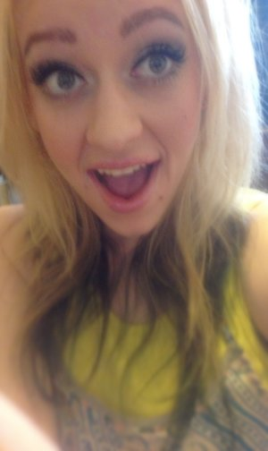This is my super happy face ! Lol!