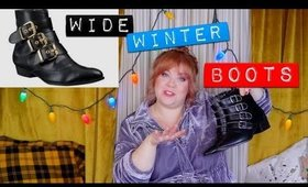 Winter Boots & Socks for Wide Shoes & Calves