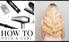 How To Hold a Curl | Milk + Blush