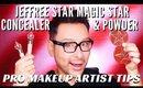 JEFFREE STAR MAGIC STAR CONCEALER AND POWDER FIRST IMPRESSIONS   mathias4makeup