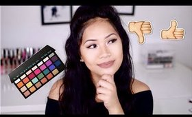 Sephora Pro Palette Editorial First Impressions and Swatches | makeupbyritz