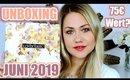 Lookfantastic Beauty Box Juni 2019   UNBOXING und PRODUKTVERLOSUNG