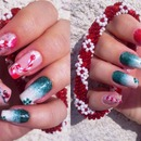 March nails (Martisor)