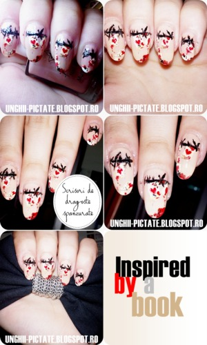 :D nails inspired by a book