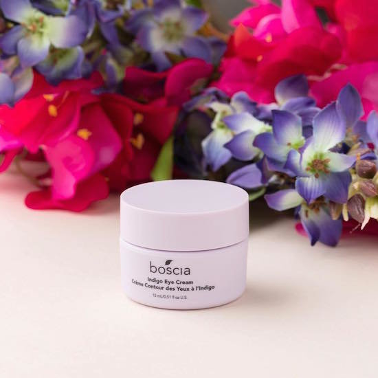 Alternate product image for Indigo Eye Cream shown with the description.