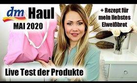 dm HAUL Mai 2020 | Beautyneuheiten Catrice & essence + Rezept für Eiweißbrot