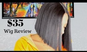 Lace Front Bob Wig Review | Virgin Hair Dupe for $35