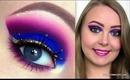 Arabic, Purple Cut Crease Makeup Tutorial using Sugarpill Cosmetics