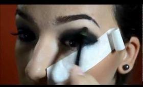 Maquiagem preta por Raquel Fernandes