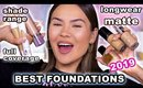 BEST FOUNDATIONS OF 2019 - YEAR IN REVIEW | Maryam Maquillage