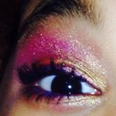 Practice with my electric palette on my baby!