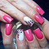 Simple Pink Leopard