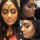 Indian Wedding Makeup by Bran!