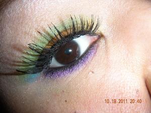 My Version of Rainbow Eyes...