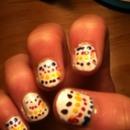 Spotty Dotty nails