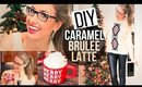 ☕ DIY Starbucks Caramel Brulee Latte Recipe & Winter Outfit of the Day