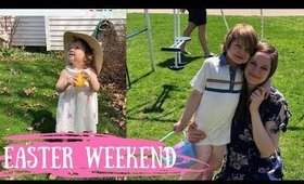 DAY IN THE LIFE  EASTER WEEKEND 2019   DITL OF A MOM OF TWO TODDLERS