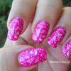 My Very Sweet Mani With Q1 Dupe Plate & XL Stamper