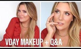 💘VALENTINE'S DAY MAKEUP + MY LOVE STORY 👩❤️👨 & RELATIONSHIP ADVICE #MakeupTherapyThursday
