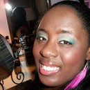 Dare To Wear Look: Yellow, Green, Blue Inspired By Temptalia