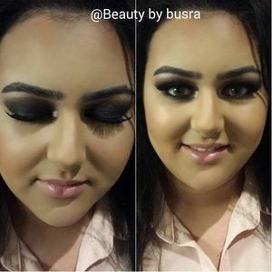 Smokey eyes. Instagram: @Beauty.by.busra