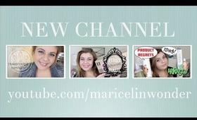 hola & new channel! youtube.com/maricelinwonder