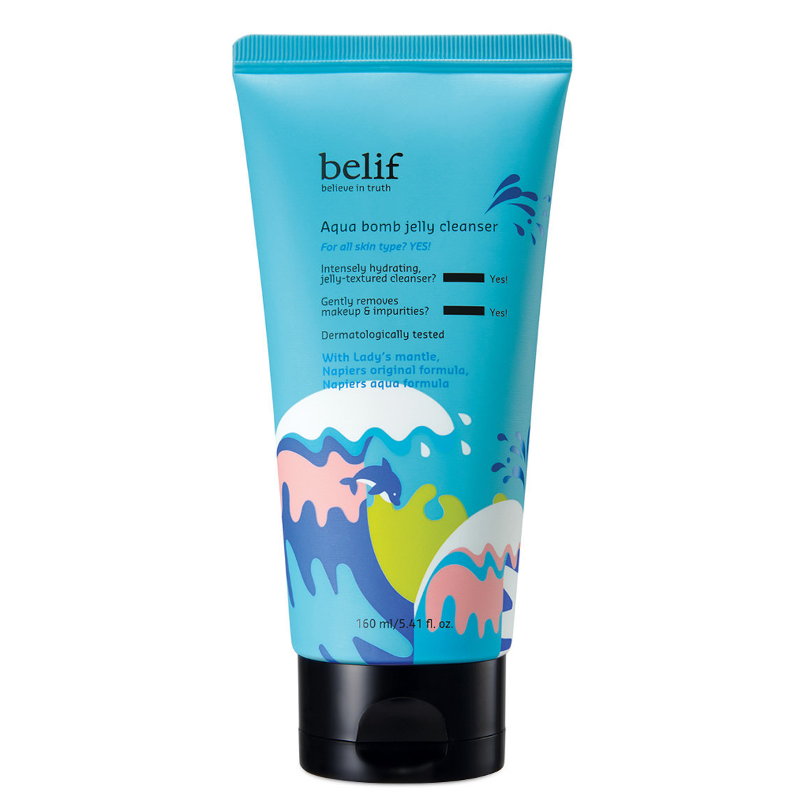 belif Aqua Bomb Jelly Cleanser alternative view 1 - product swatch.
