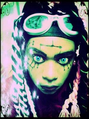cyber goth style