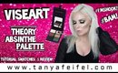 Viseart Theory Absinthe Palette #I'mShook!! #Bam! | Tutorial, Swatches, & Review | Tanya Feifel
