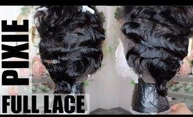 Short Full Lace Wig | Fingerwaves & curls | Juleen Forbes