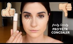 *NEW* Fenty Beauty Pro'Filtr Concealer | First Impression Review + Wear Test